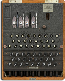 Enigma Machine M4 with UKW-D