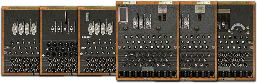 Public Enigma Simulator Machines